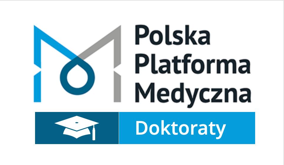 Logo Polska Platforma Medyczna z podpisem Doktoraty