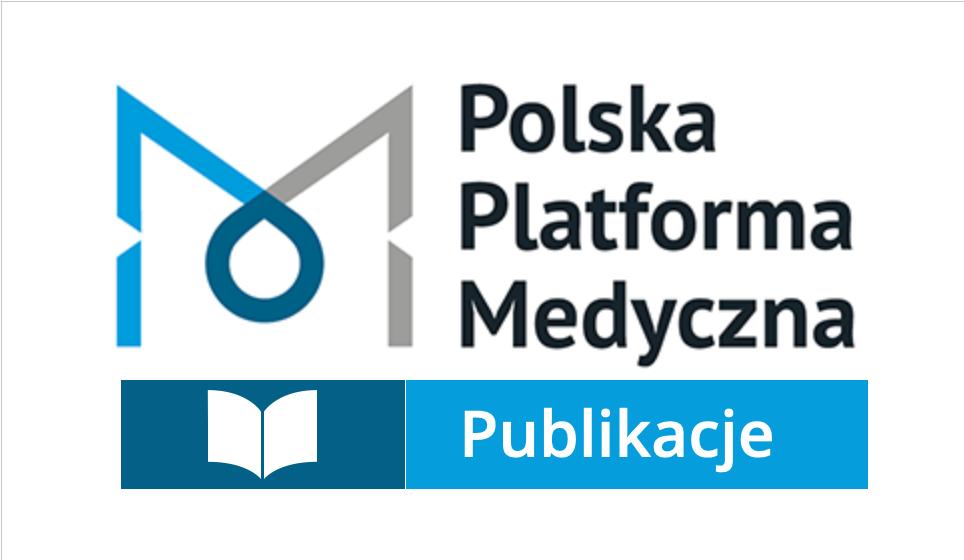 Logo Polska Platforma Medyczna z podpisem Publikacje